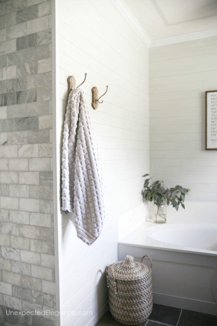 Need a quick bathroom update? Check out these simple bathroom decor items that make a big impact.
