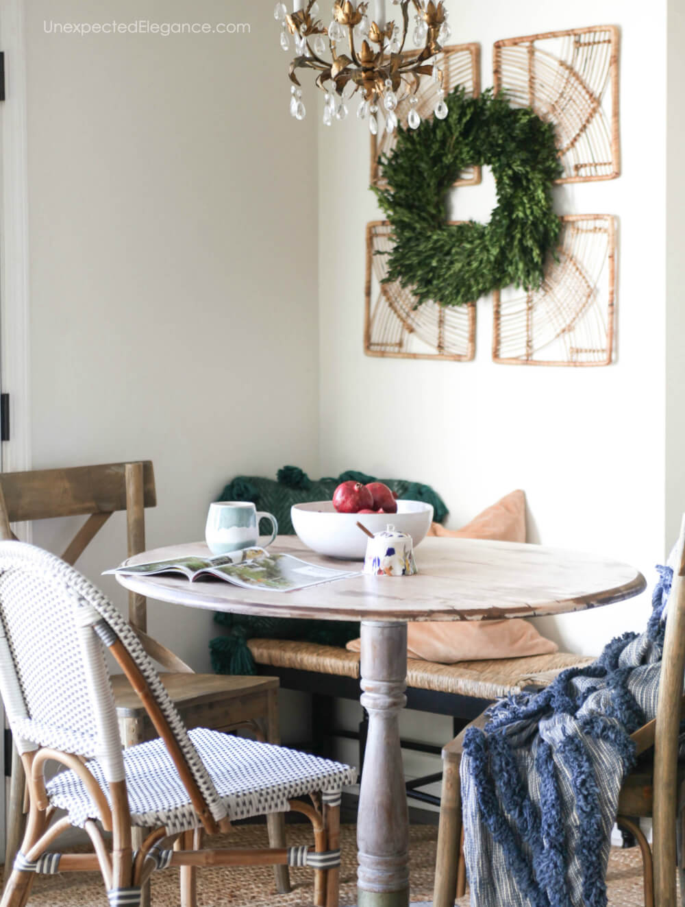 Quick and easy Christmas decor ideas.