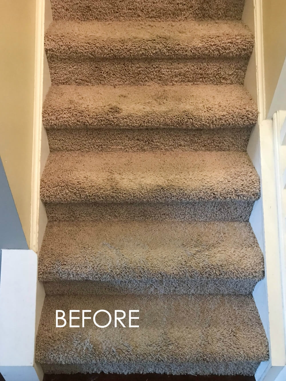 How To Replace Carpet With An Inexpensive Stair Runner For Around 100 | Carpet Runners For Stairs | Brown | Herringbone | Blue | Design | Wool