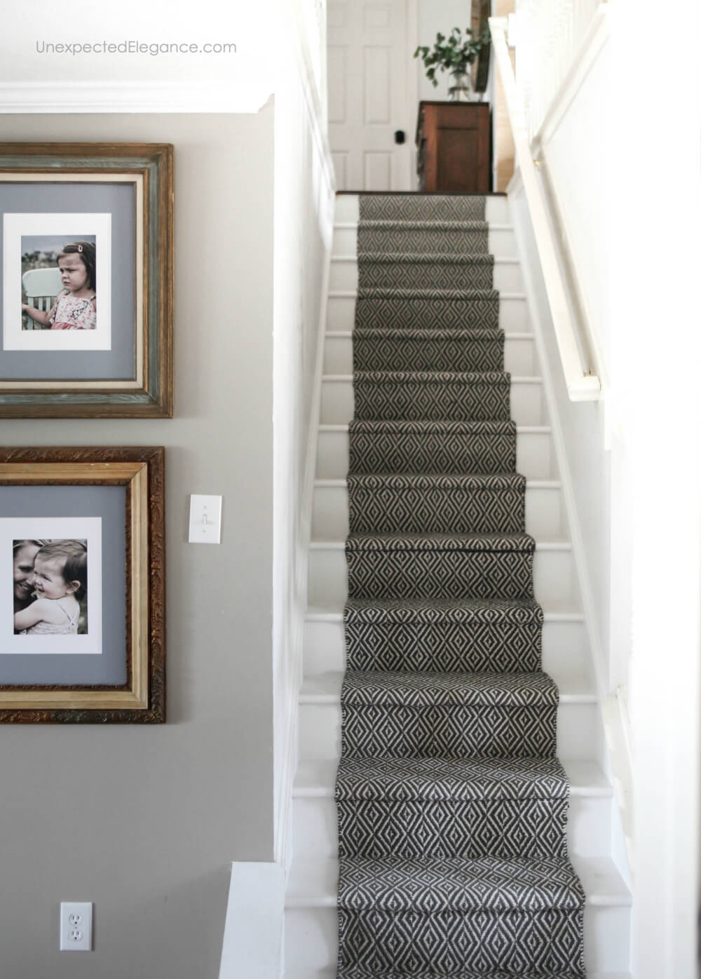 How To Replace Carpet With An Inexpensive Stair Runner For Around 100 | Cutting Carpet For Stairs | Carpet Tiles | Carpet Runner | Stair Tread | Wooden Stairs | Stair Runner