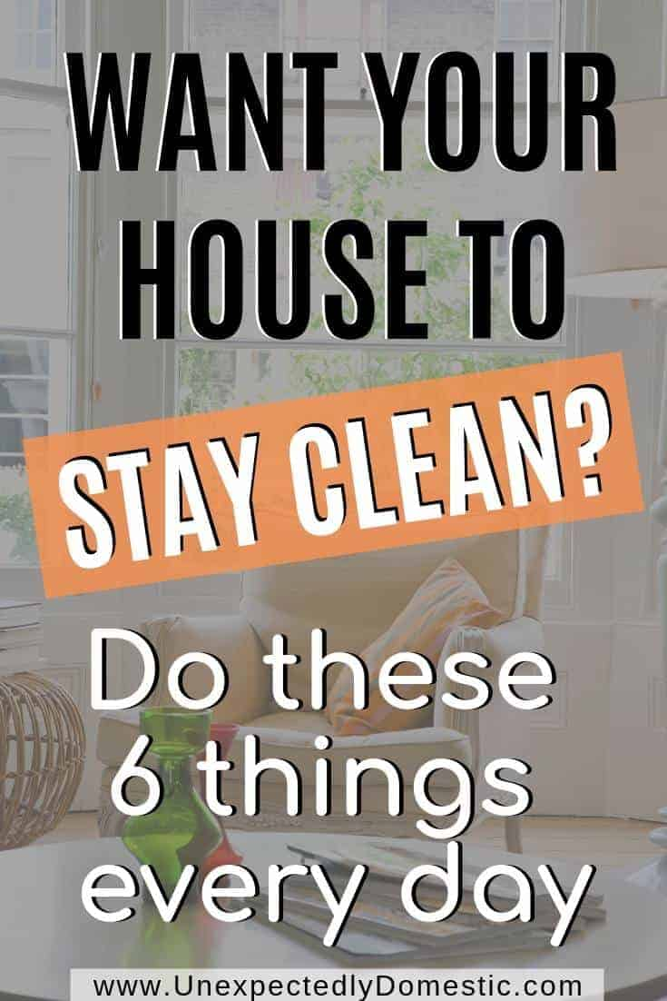 Tired of your messy house? Here's a system to keep it tidy in under 30 minutes a day so you never have to spend Saturday afternoon cleaning again.