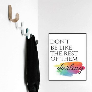 inspirational quote art print