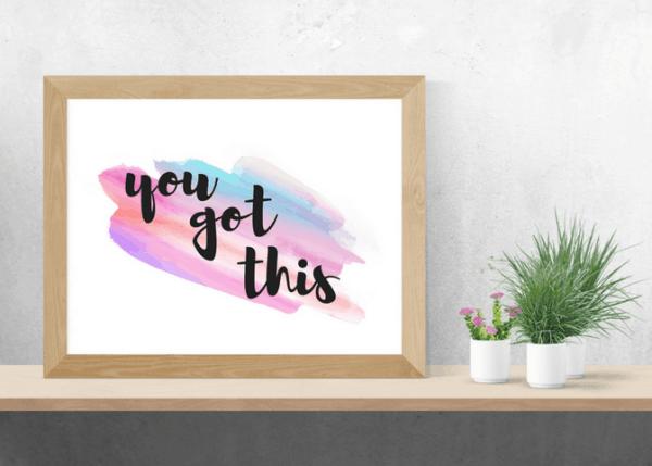 inspirational printable art