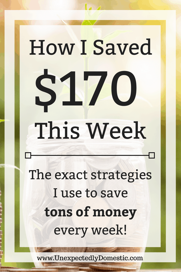 How I Saved Week 22