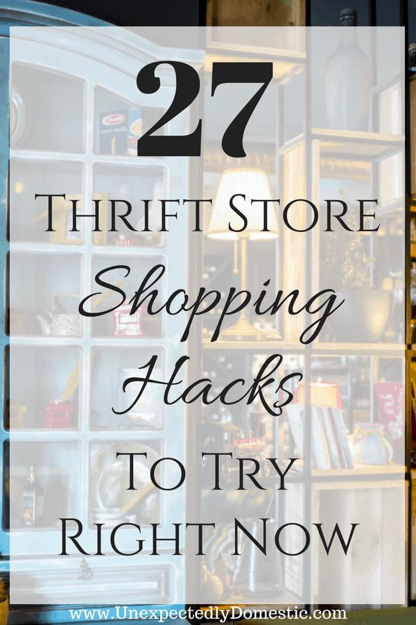 best thrift store shopping tips