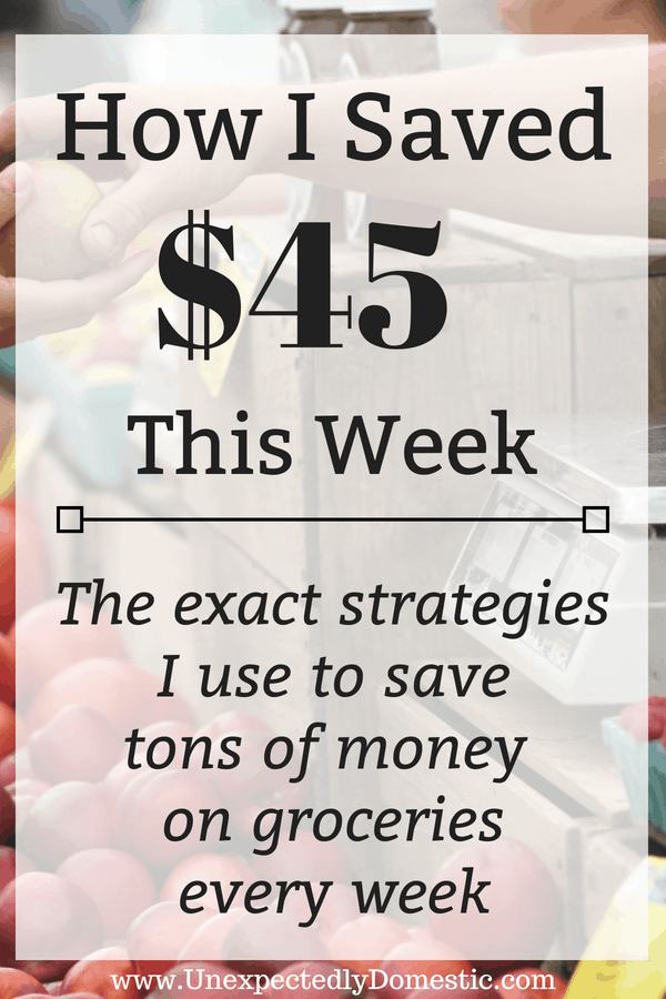 Money saving tricks