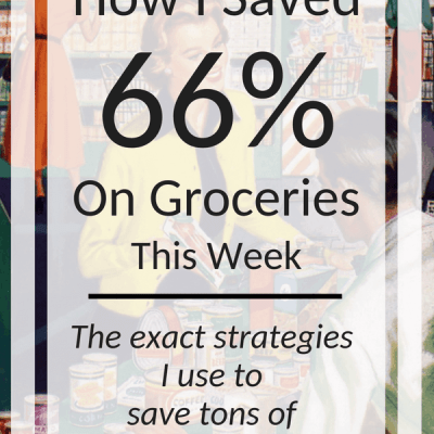 Week 28: How I Saved 66% on Groceries