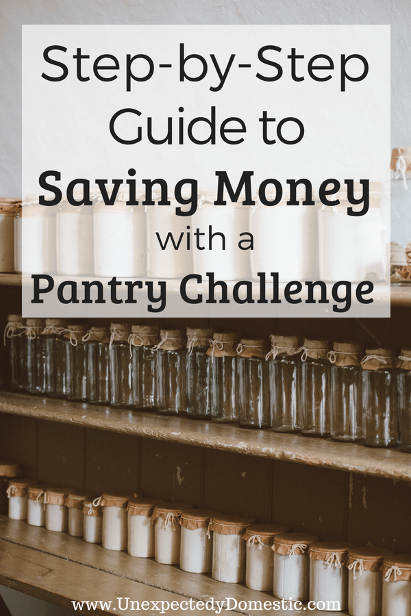 Learn how to save money this month with a pantry challenge. Here are the 10 surprising advantages of cooking with what you have. Save money and time!