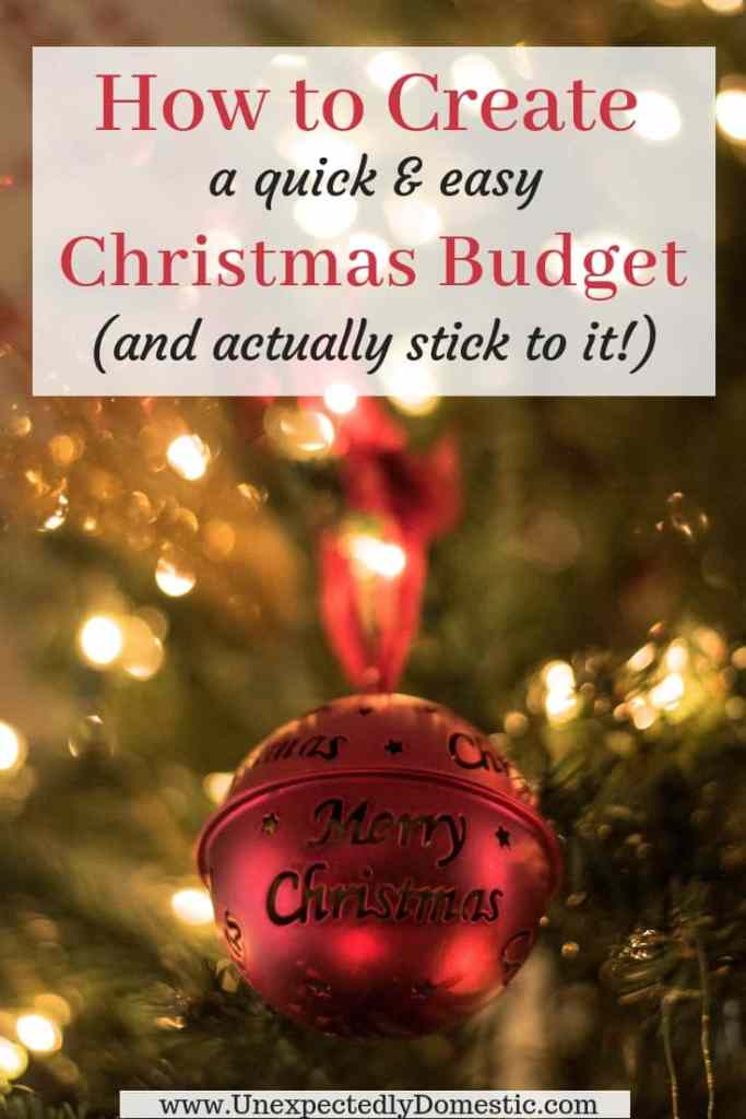 Learn how to create a Christmas budget this year! Use this free Christmas budget planner to set up a holiday budget this year so you don't go into debt.