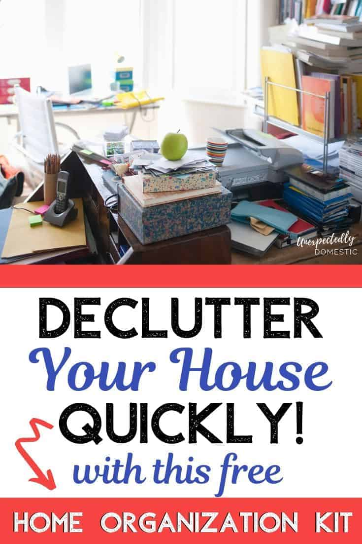decluttering your house checklist