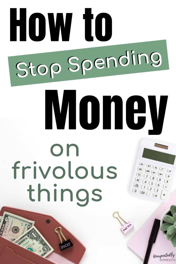 Here's how to stop spending money on unnecessary things! While shopping, ask yourself these questions before buying something.