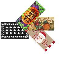 Halloween/Thanksgiving/Christmas Interchangeable Mat