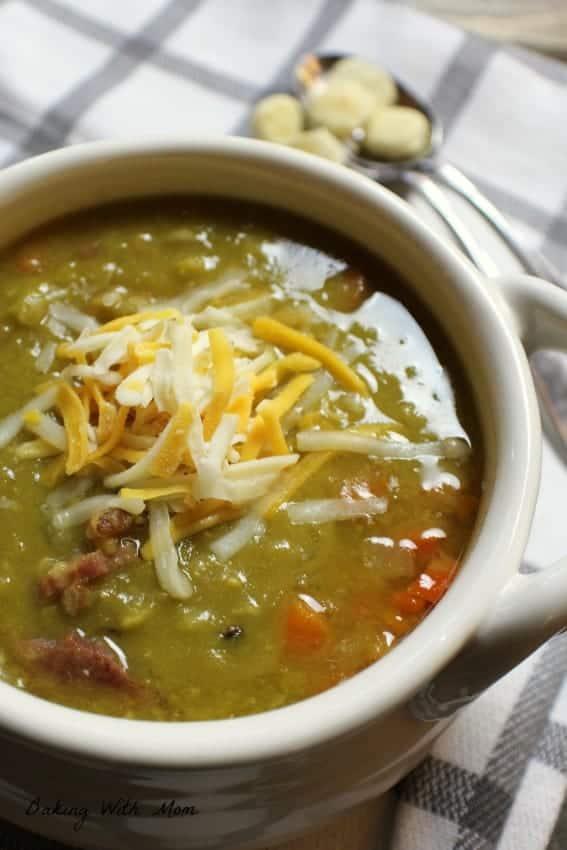 Crock Pot Split Pea Soup With Ham