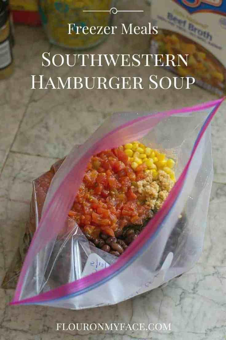 Southwestern Hamburger Soup
