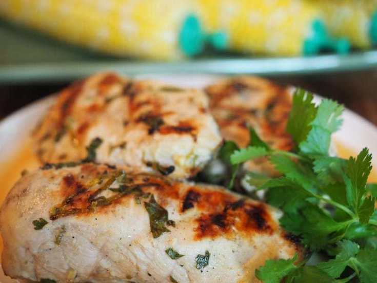 Coconut Lime Grilled Chicken