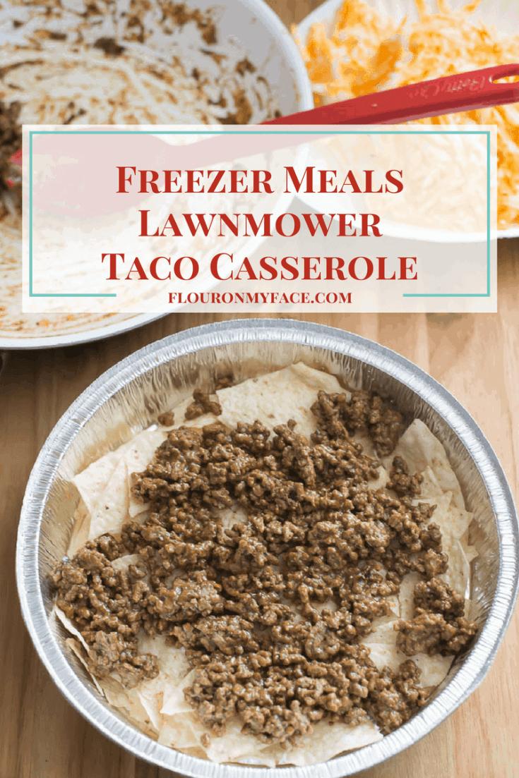 Lawnmower Taco Casserole