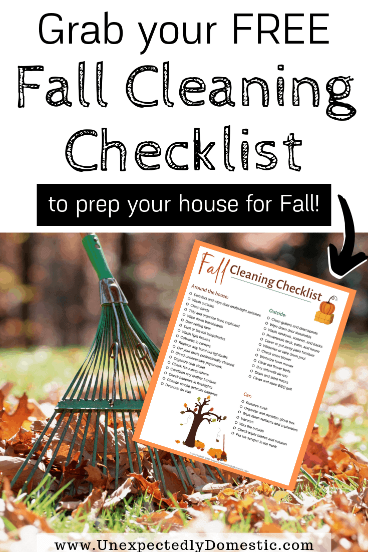 The Ultimate Fall Cleaning Checklist How to Prep Your
