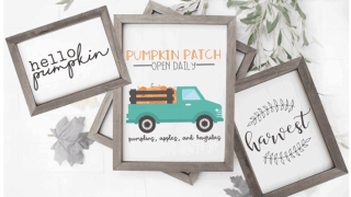 15 Beautiful Free Fall Printables - Decorating for Fall on a Budget!