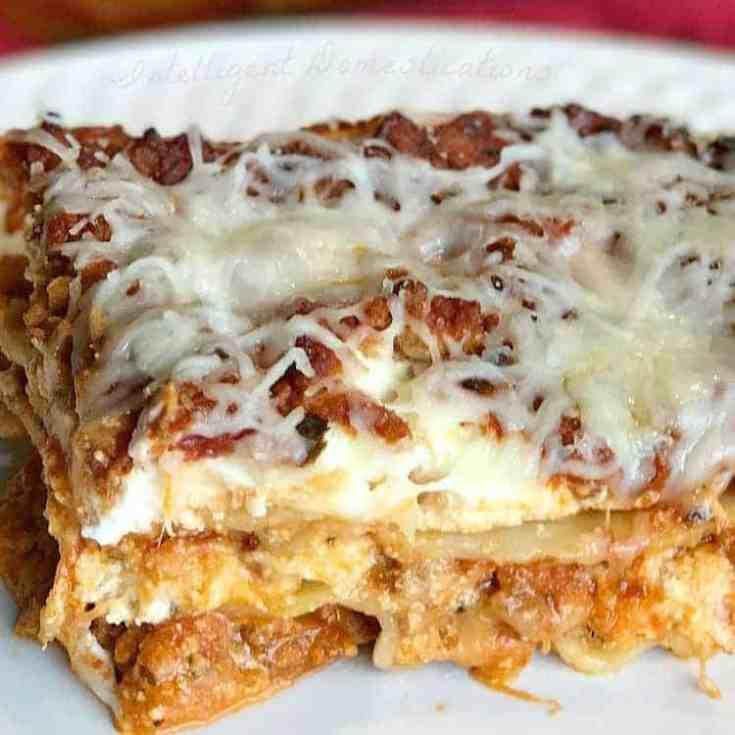 Easy Classic Lasagna