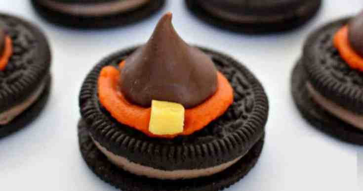 Oreo Witches Hats