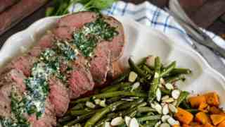 Herbed Steak Sheet Pan Dinner Family Meal Recipe