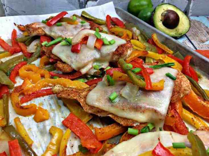 Spanish Chicken Sheet Pan Supper