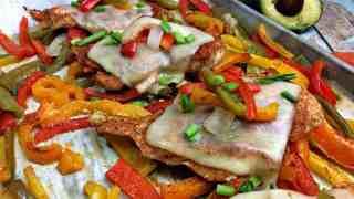 Spanish Chicken Sheet Pan Supper