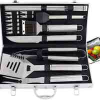 20pc Heavy Duty BBQ Grill Tool Set (with Cooler Bag)