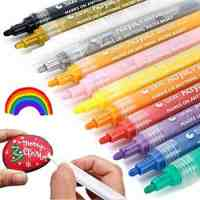 Acrylic Paint Pens - Set of 12 Colors