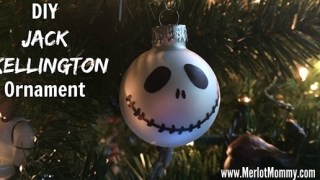 DIY Jack Skellington Ornaments