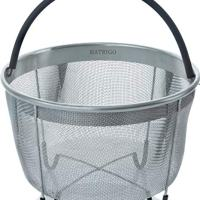 Steamer Basket with Silicone Handle