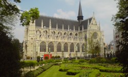 The Church of Notre Dame des Sablon
