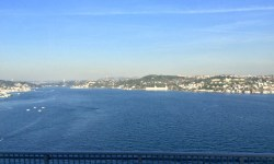 A photo of the Bosphorus Straits - Istanbul, Turkey
