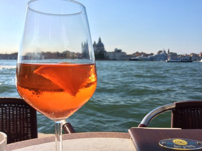 A photo of an Apero Spritz - Venice, Italy