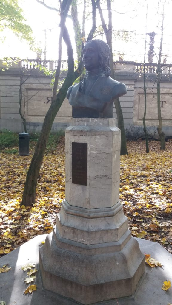 A photo of the statue of Peter the Great - Brussels, Belgium