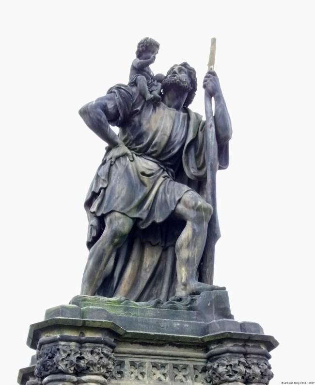 A photo of St Christopher - Prague, Czechia
