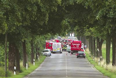 Toedlicher Unfall bei Wormersdorf