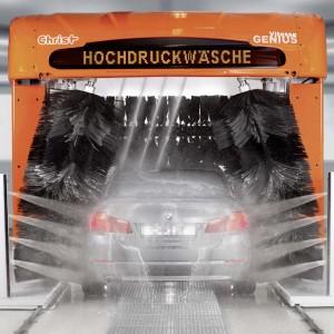 Autowäsche dient nicht nur der Sauberkeit. Foto: GTÜ / Christ.