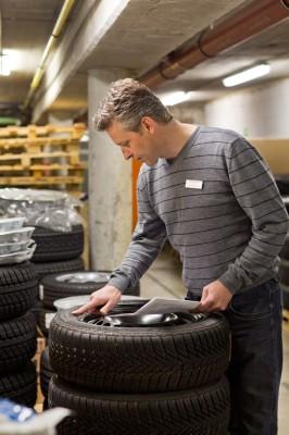 Saisonwechsel für die Reifen. Foto: ZDK.