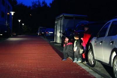 Kinder im Dunkeln. Foto: ARCD.