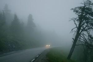 Nebel und schlechte Sicht. Foto: ACV.