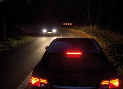 Die Geschwindigkeit zu hoch und zu spät erkennt der Fahrer das feuchte Laub in der Kurve. Der Deutsche Verkehrssicherheitsrat (DVR) weist darauf hin, dass sich die meisten tödlichen Unfälle auf Landstraßen ereignen. Deshalb empfiehlt er, die zulässige Höchstgeschwindigkeit auf Landstraßen mit einer Fahrbahnbreite bis einschließlich sechs Metern auf 80 km/h zu begrenzen. Foto: DVR.