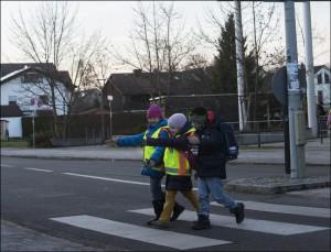 Sichtbarkeit erhöht die Sicherheit im Straüenverkehr. Foto: ADAC.