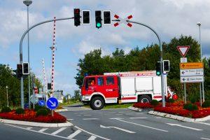 Feuerwehreinsatz. Foto: ADAC.