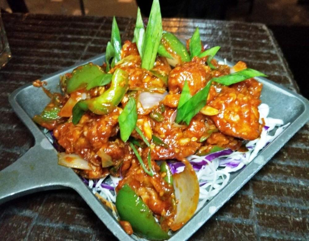 Chili Chicken fry