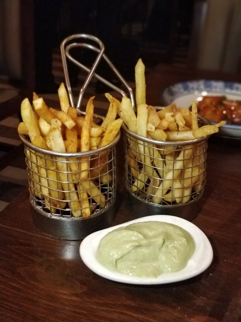 Trio French fries
