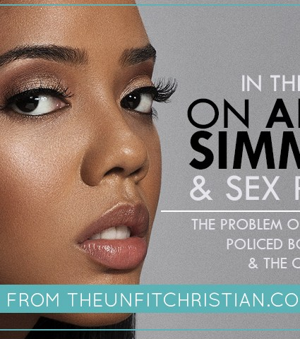 On Angela Simmons & Sex Politics