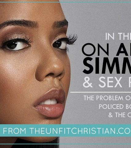 On Angela Simmons & Sex Politics