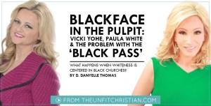 Vicki Yohe and Paula White