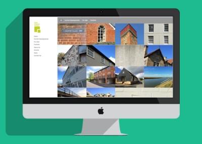 East Anglian Group Website - Desktop